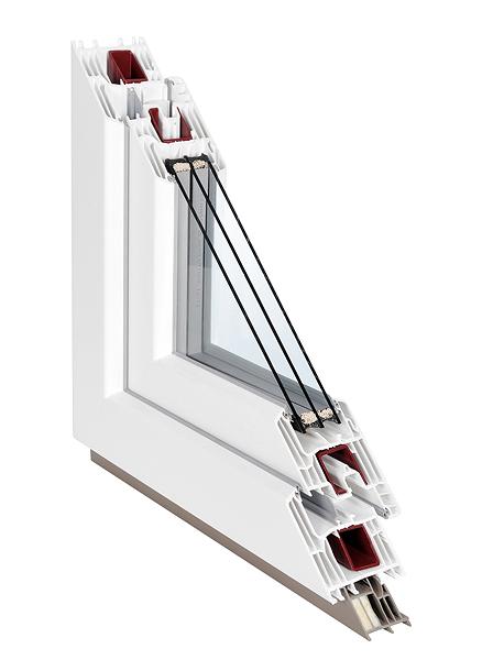 Profil pro plastová okna