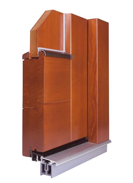 Profil pro dřevěná okna